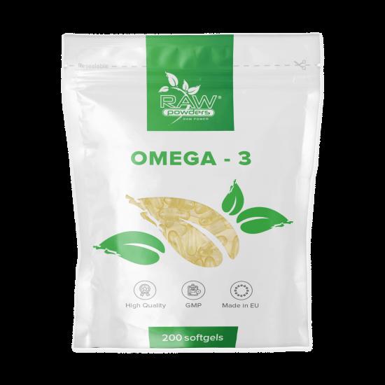 Omega-3 200 mjuka gelkapslar