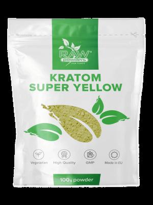 Kratom Super Yellow Pulver 100 gram