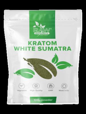 Kratom White Sumatra Pulver 100 gram