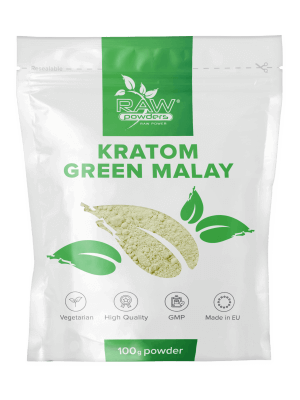Kratom Grönt Malay Pulver 100 gram